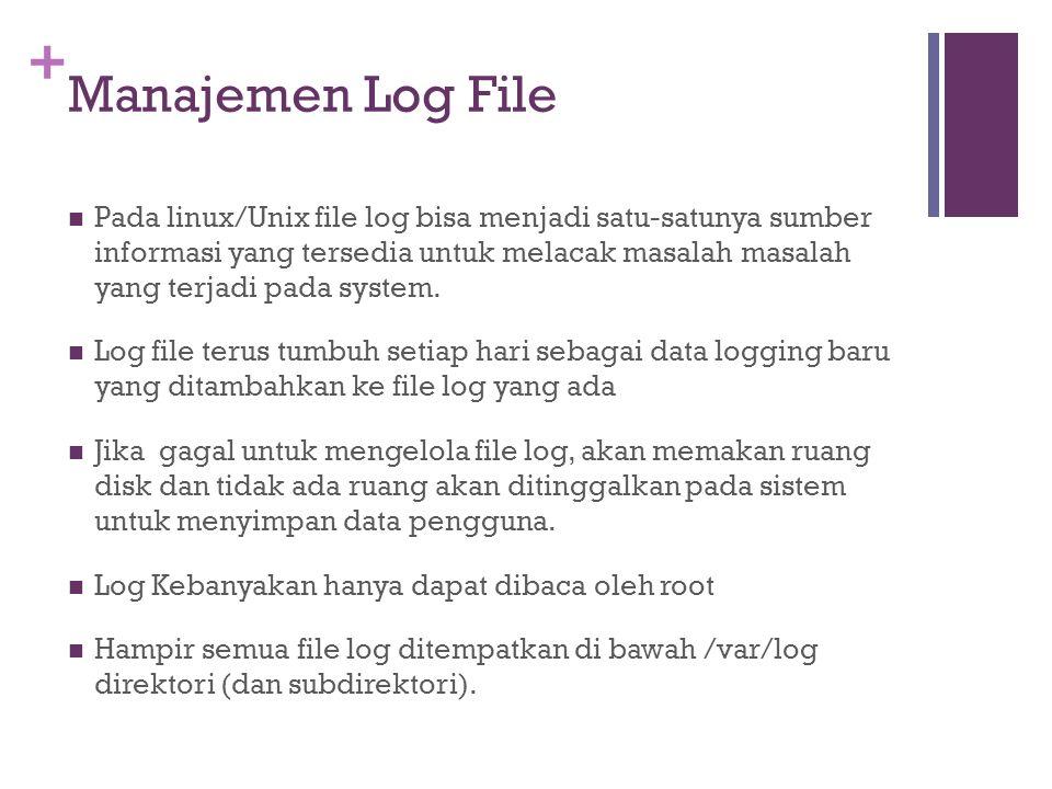 Manajemen Log File
