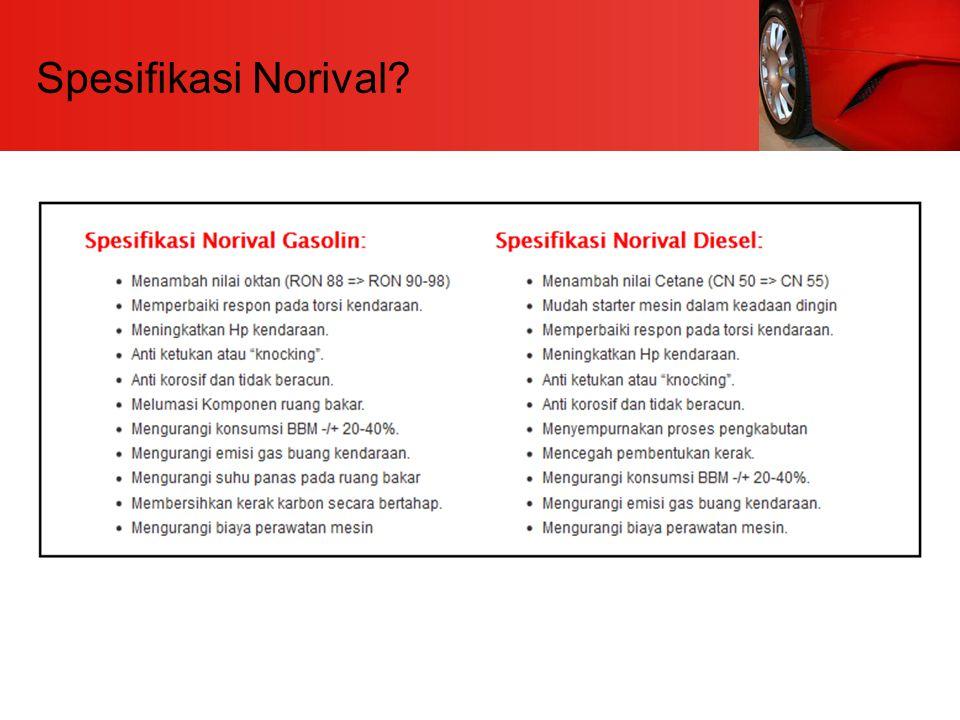 Spesifikasi Norival
