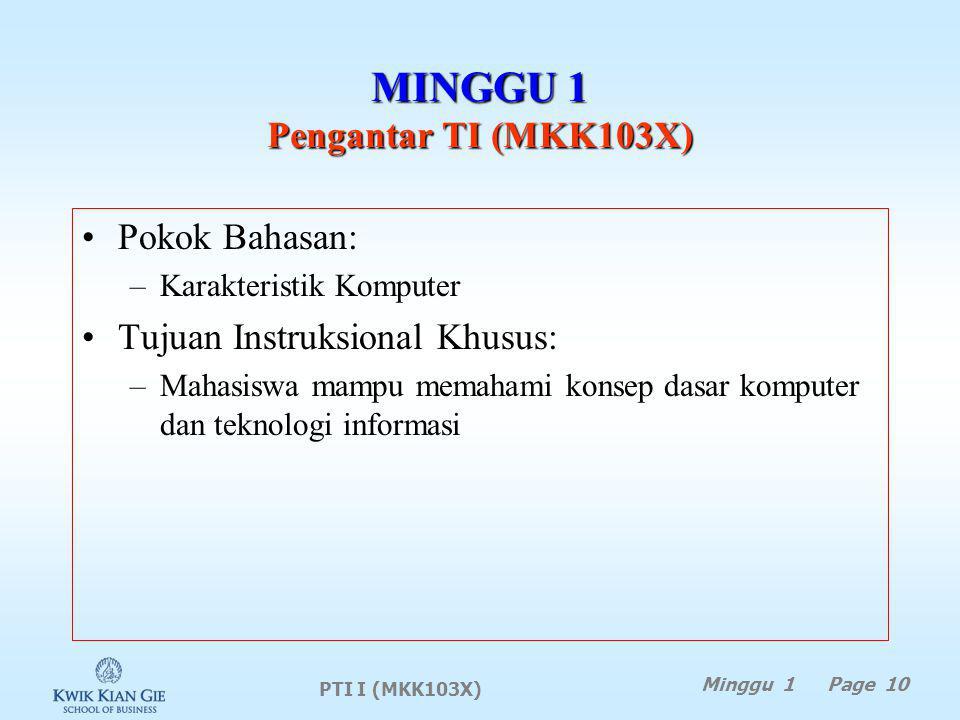 MINGGU 1 Pengantar TI (MKK103X)