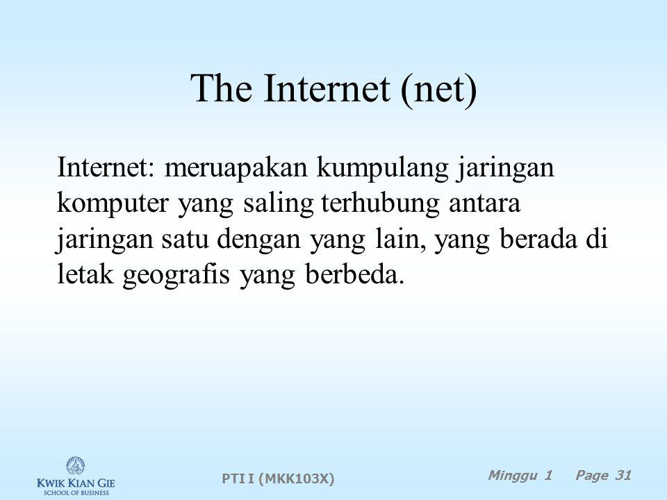 The Internet (net)