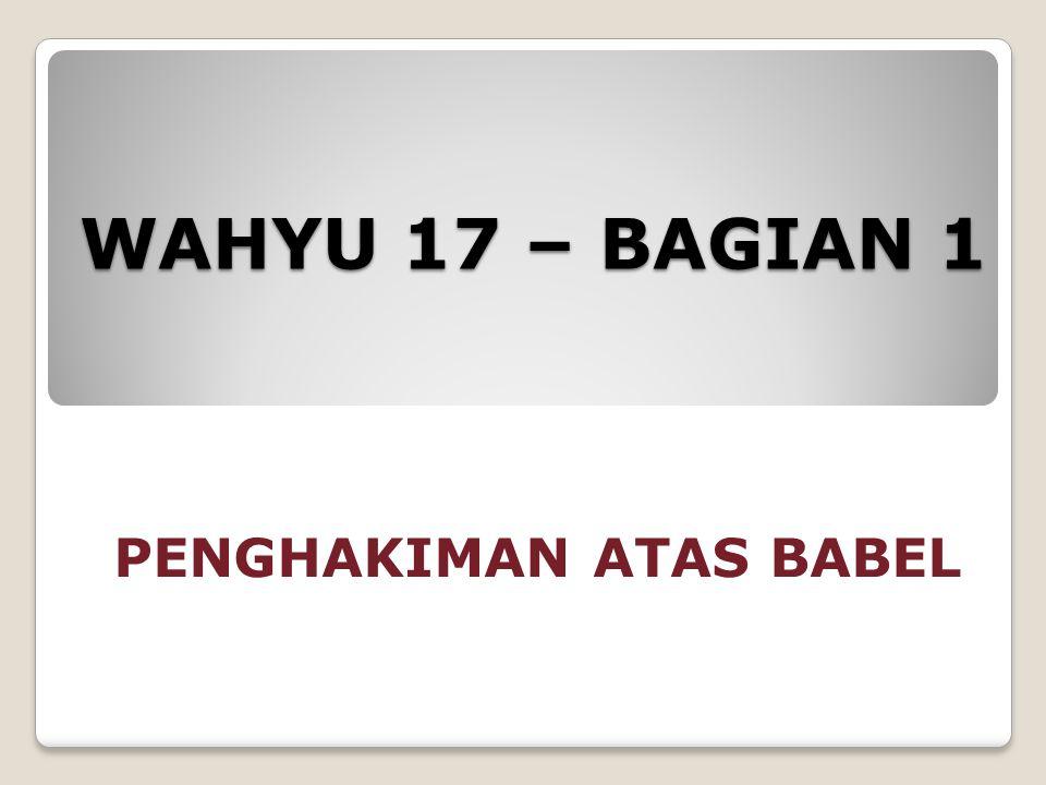 PENGHAKIMAN ATAS BABEL