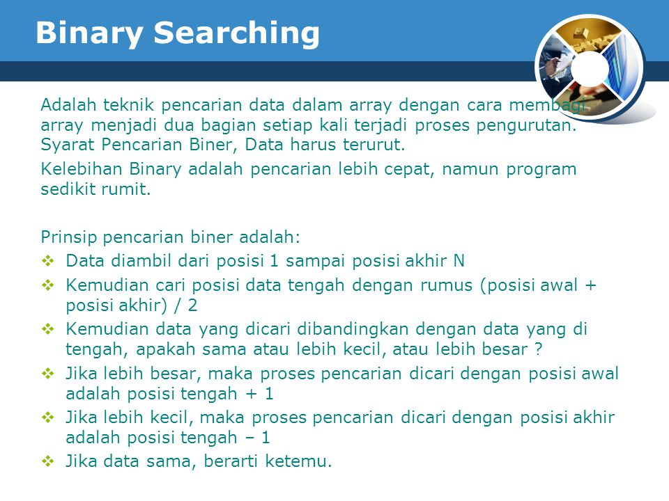 Binary Searching