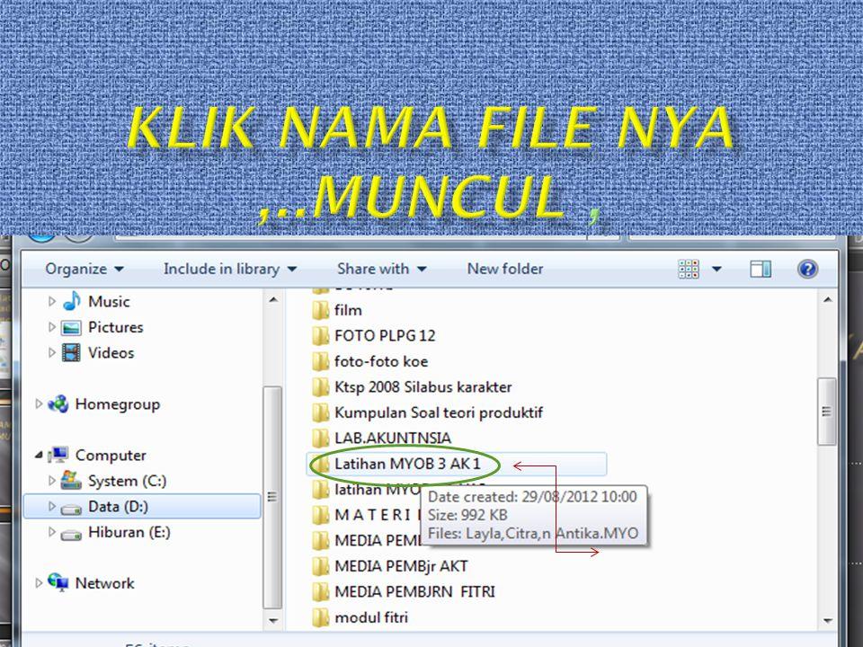 Klik Nama file NYA ,..muncul ,