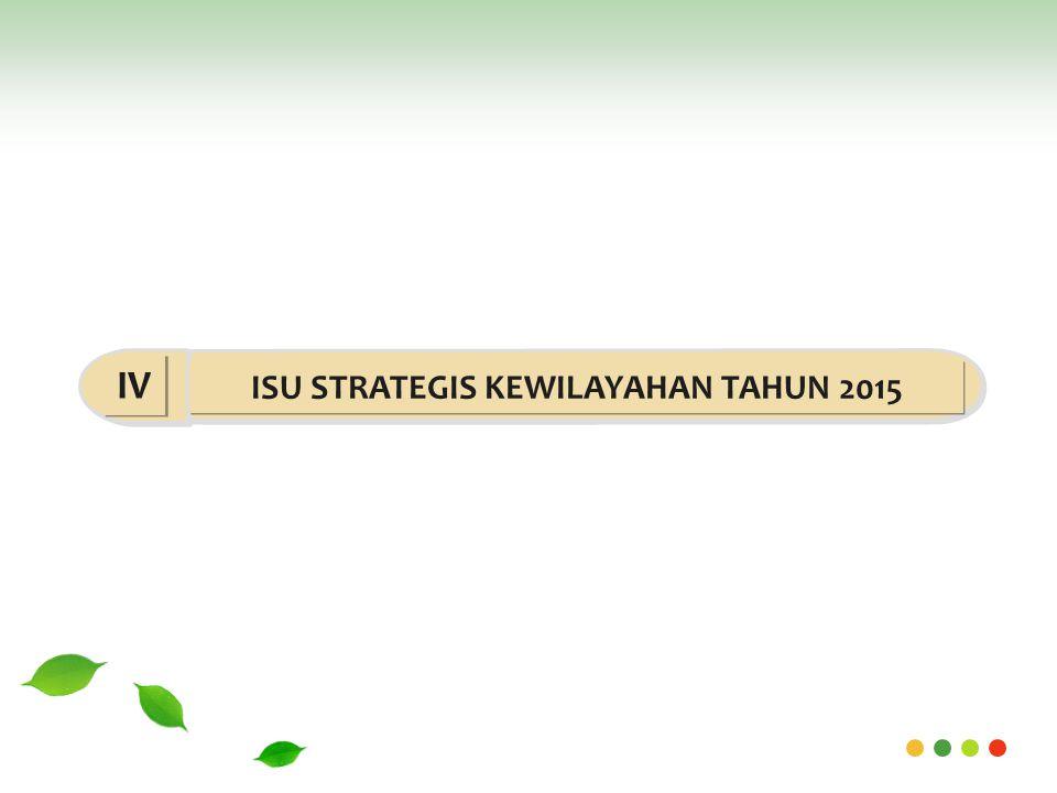 ISU STRATEGIS KEWILAYAHAN TAHUN 2015