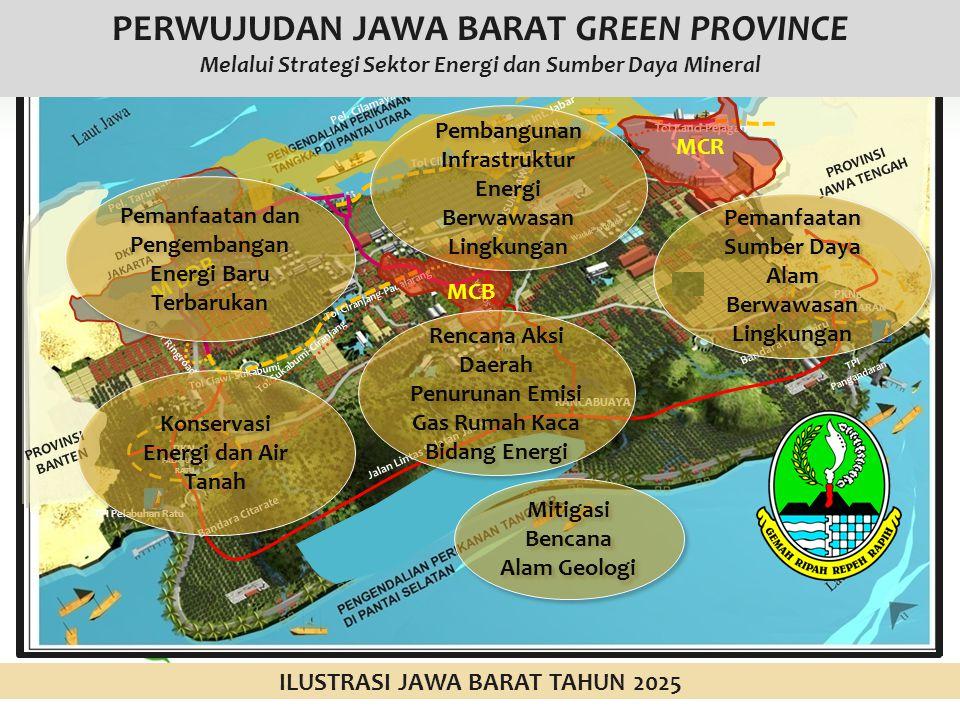 PERWUJUDAN JAWA BARAT GREEN PROVINCE