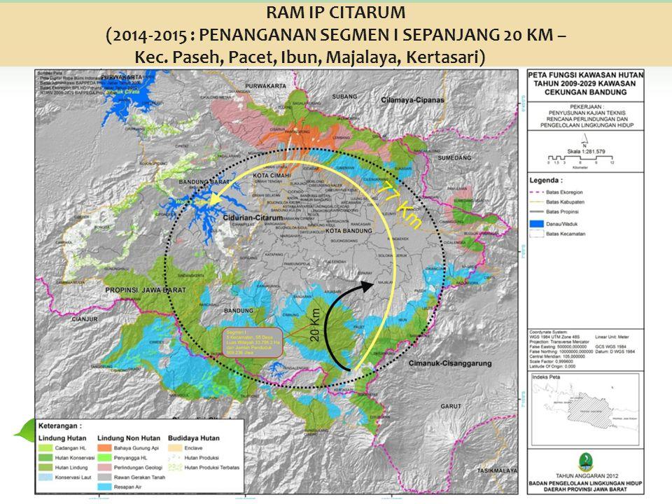 (2014-2015 : PENANGANAN SEGMEN I SEPANJANG 20 KM –