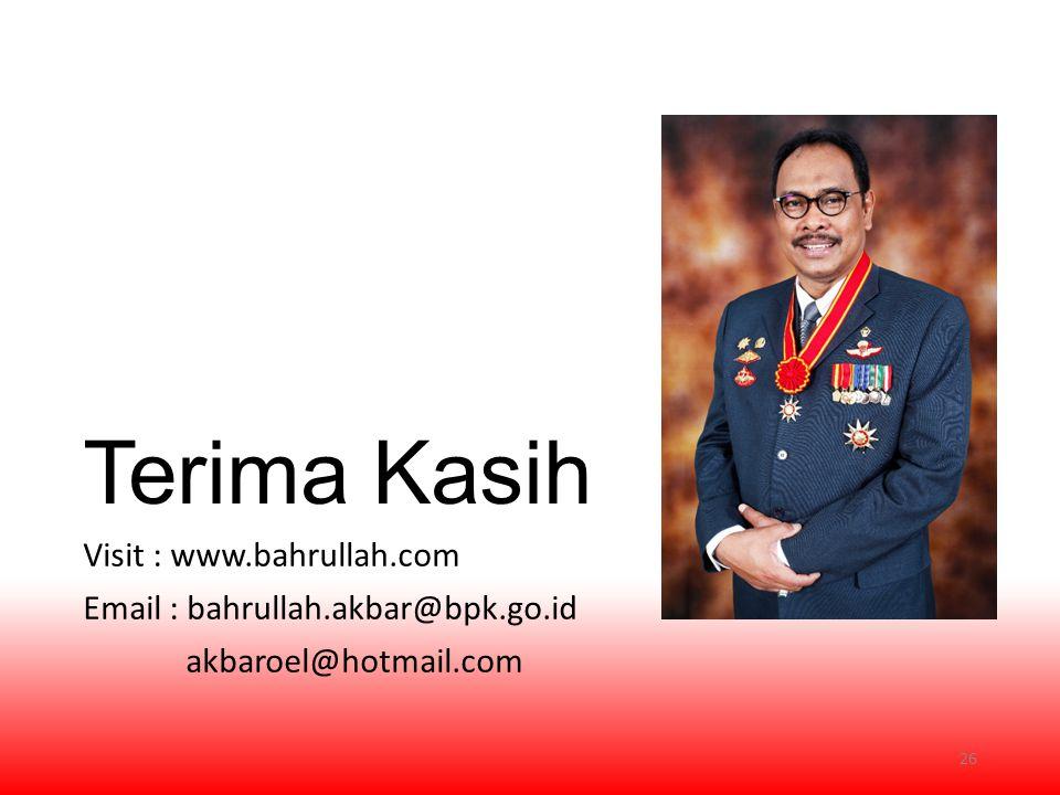Terima Kasih Visit : www.bahrullah.com