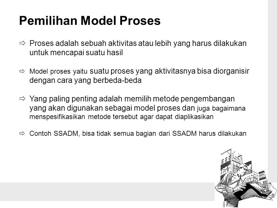 Pemilihan Model Proses