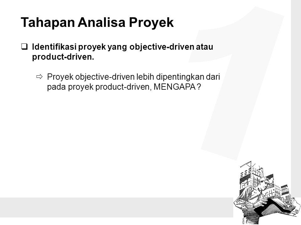 1 Tahapan Analisa Proyek
