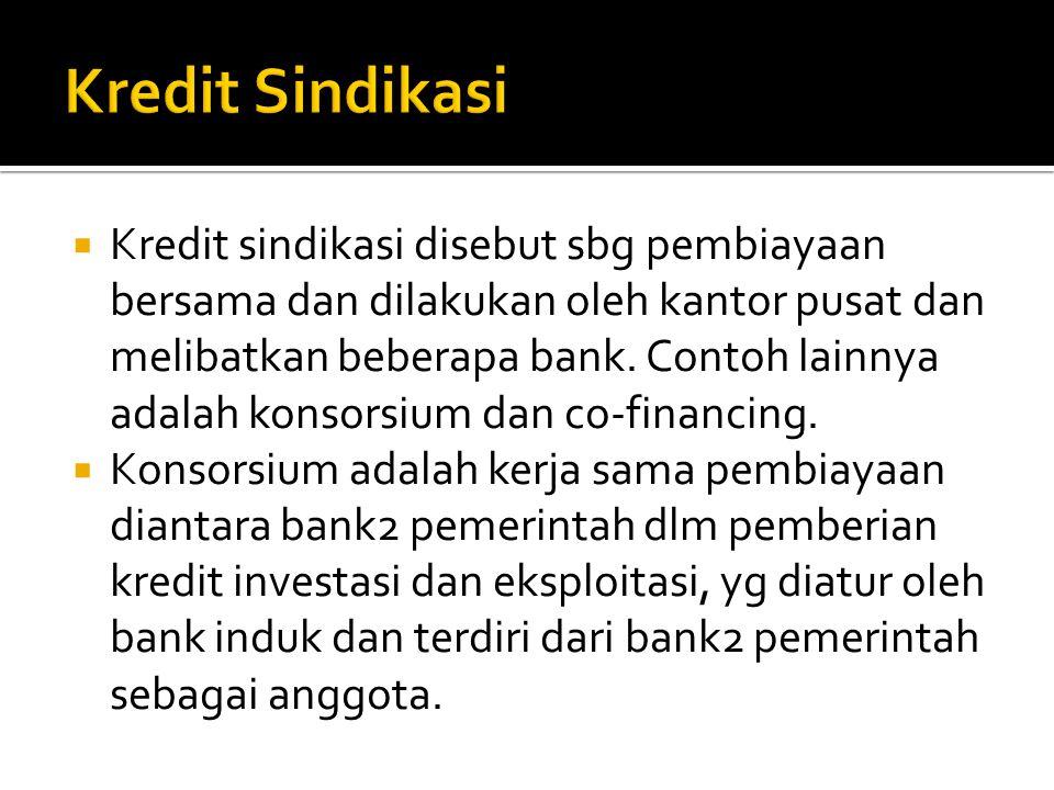 Kredit Sindikasi