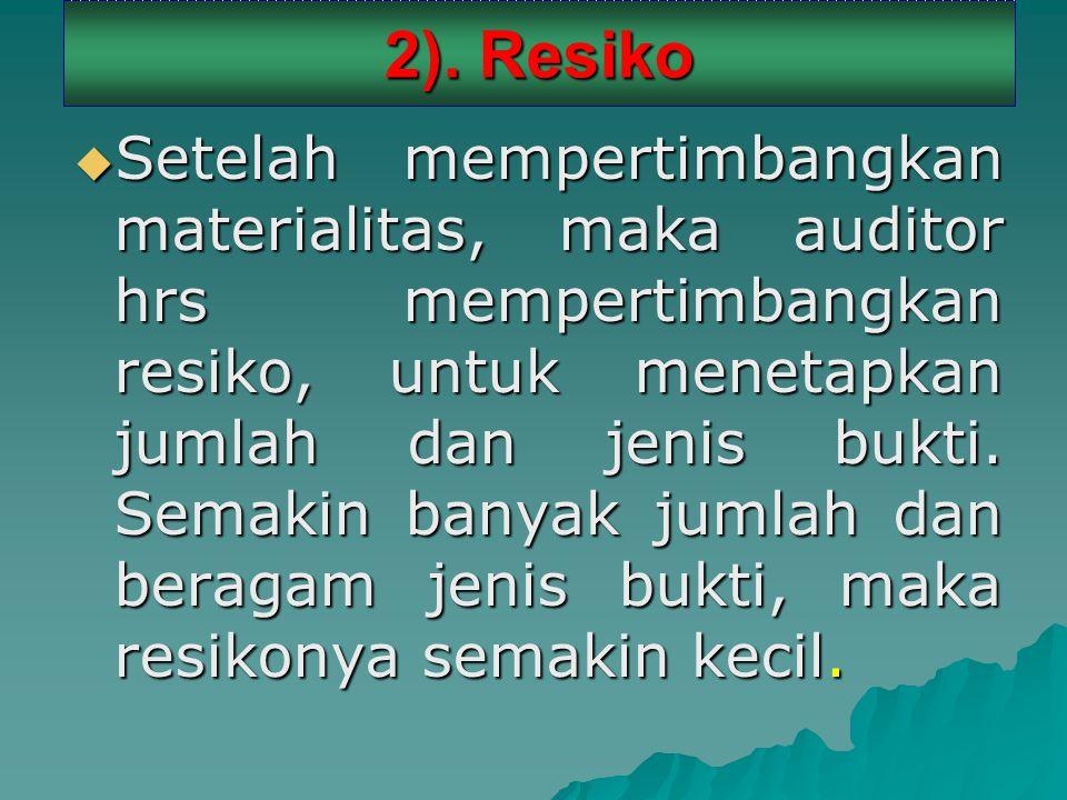 2). Resiko