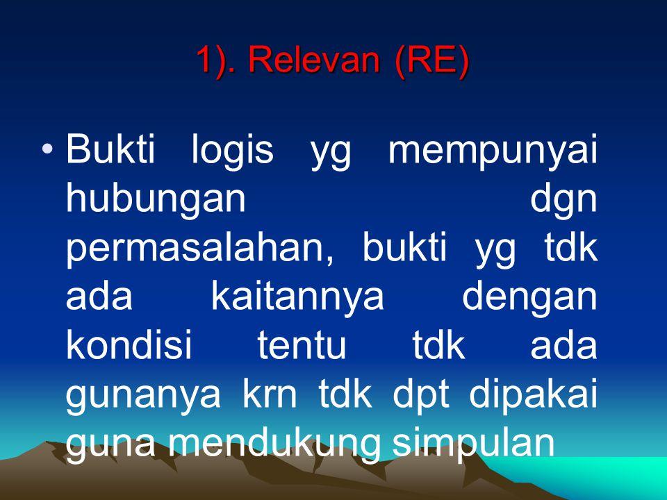 1). Relevan (RE)