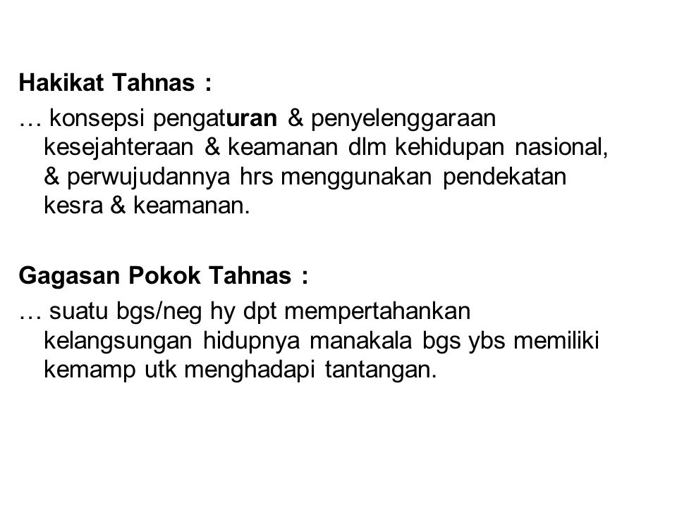 Hakikat Tahnas :