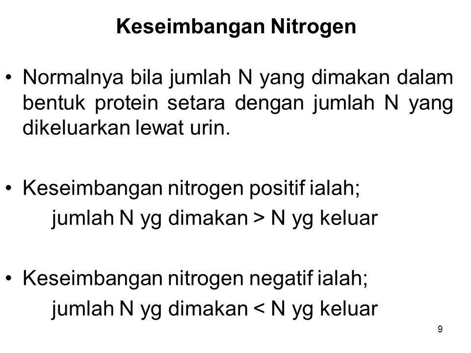 Keseimbangan Nitrogen