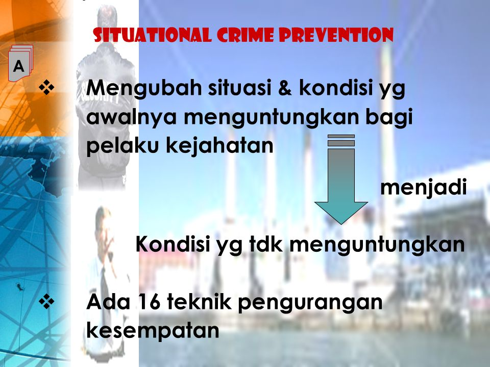 essays on situational crime prevention Brudenell examine the effectiveness of crime reduction strategies in reducing crime there are three types of crime prevention situational crime prevention essay.