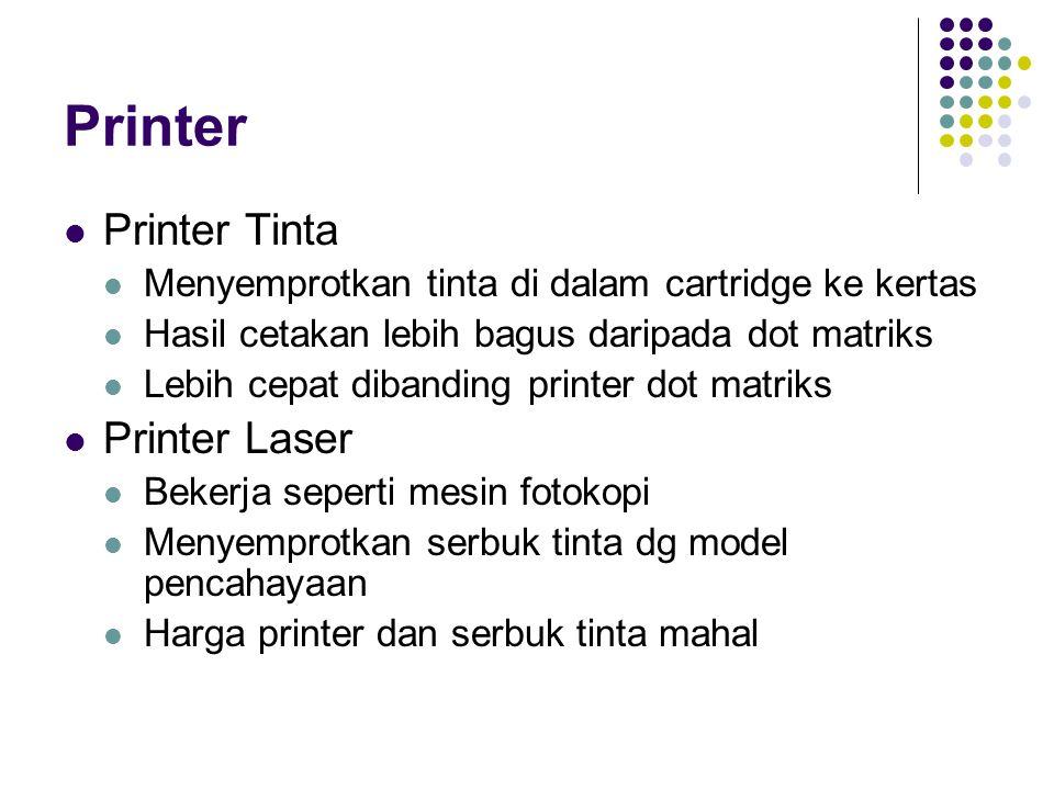 Printer Printer Tinta Printer Laser