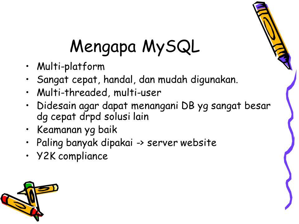 Mengapa MySQL Multi-platform