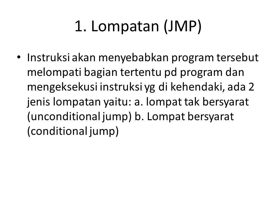 1. Lompatan (JMP)