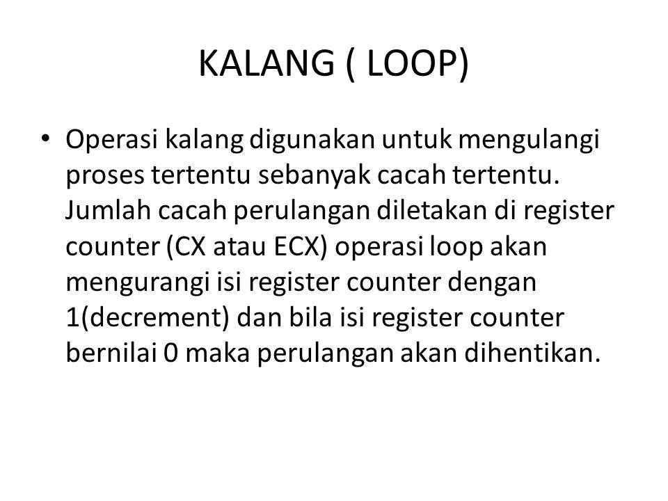 KALANG ( LOOP)