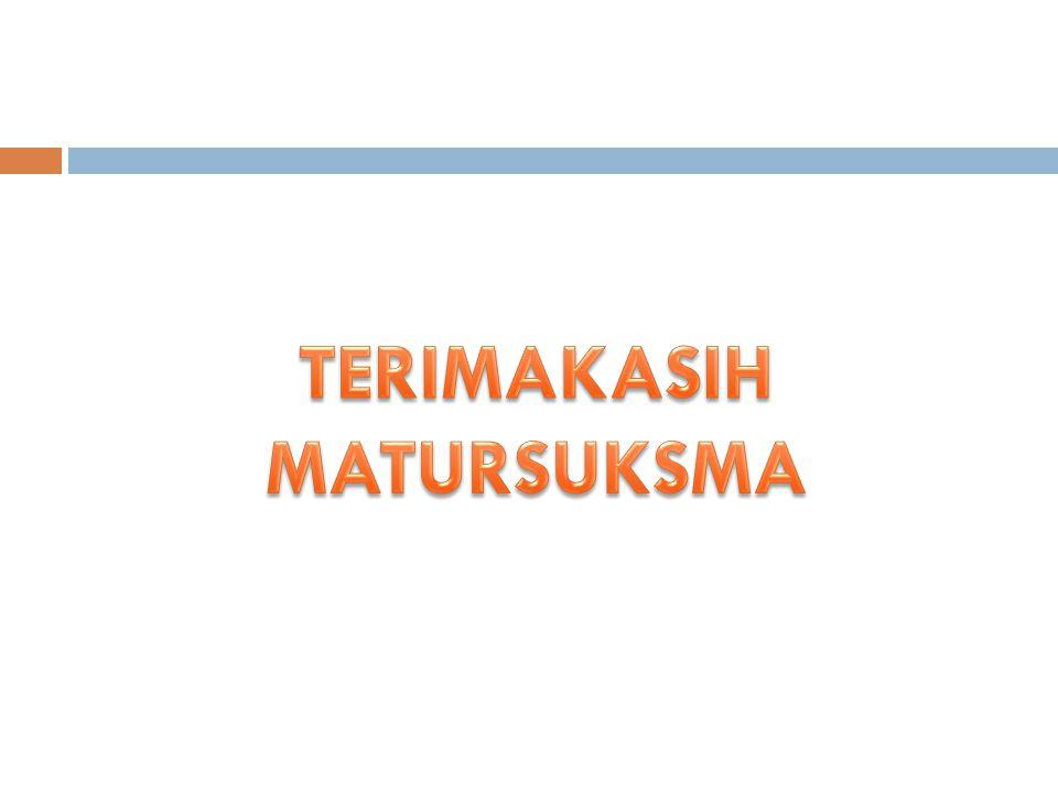 TERIMAKASIH MATURSUKSMA
