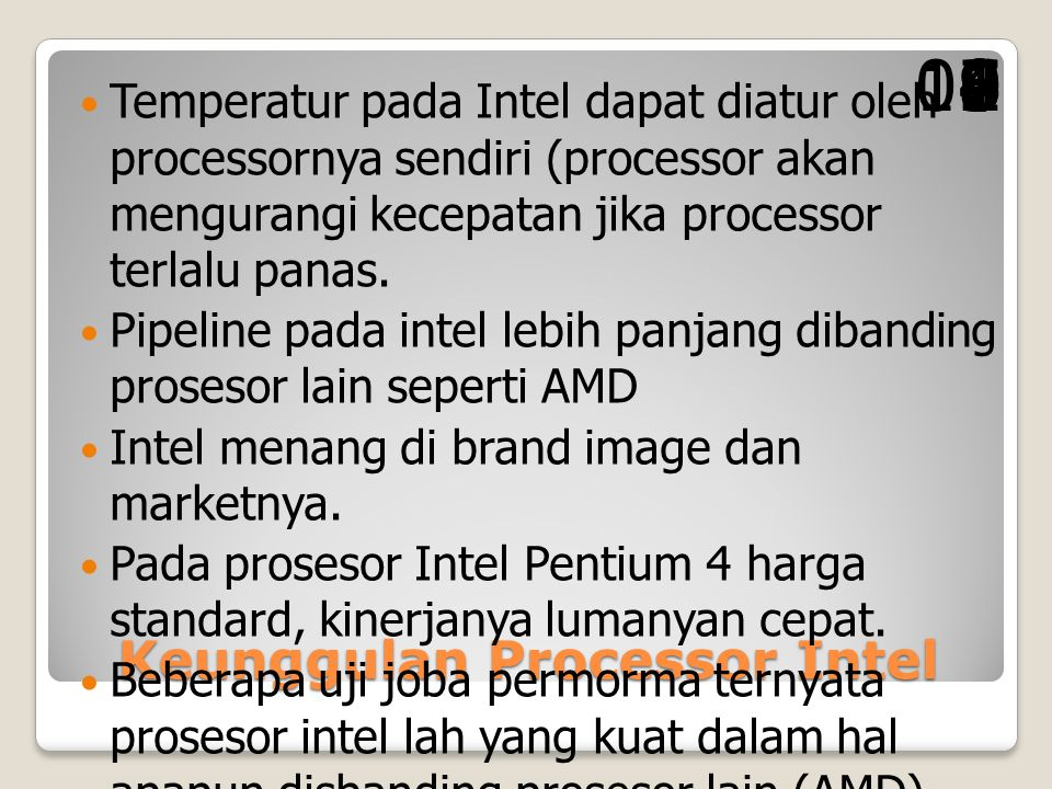 Keunggulan Processor Intel