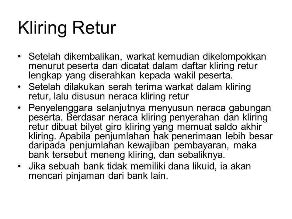 Kliring Retur