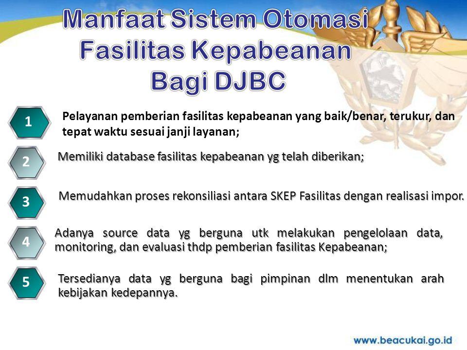 Manfaat Sistem Otomasi Fasilitas Kepabeanan Bagi DJBC