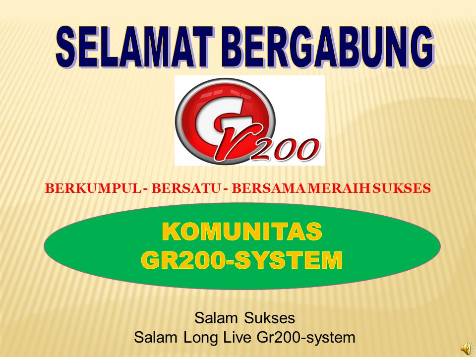 Salam Long Live Gr200-system