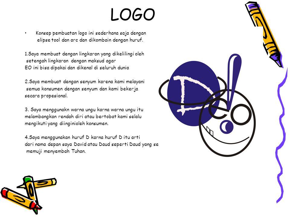 LOGO Konsep pembuatan logo ini sederhana saja dengan
