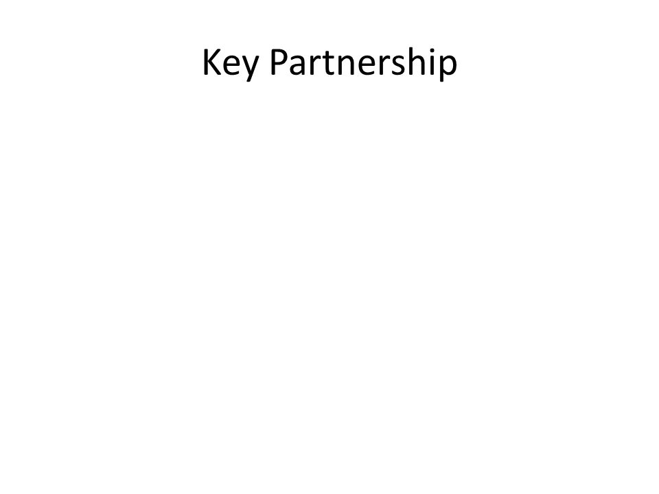 Key Partnership