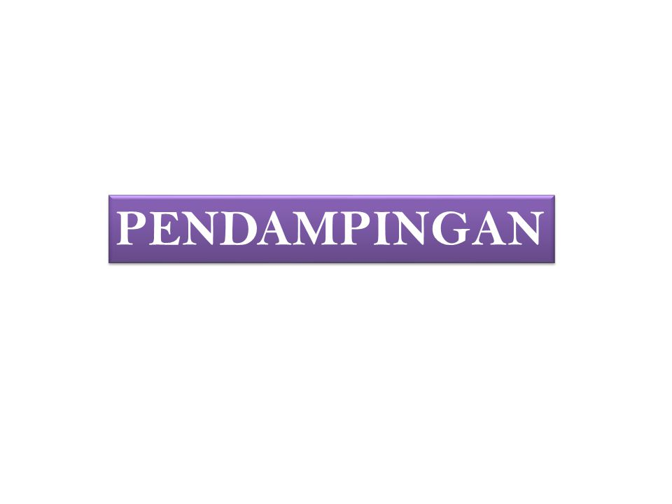 PENDAMPINGAN