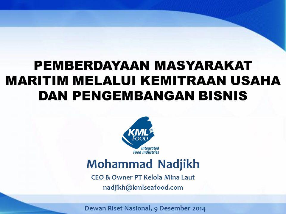 CEO & Owner PT Kelola Mina Laut