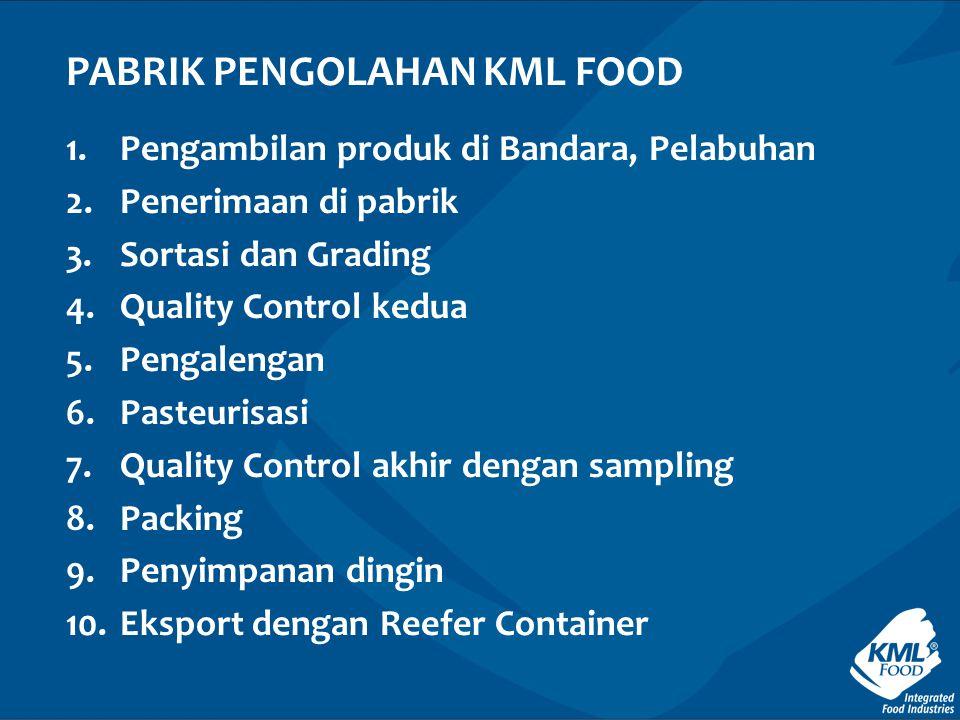 PABRIK PENGOLAHAN KML FOOD