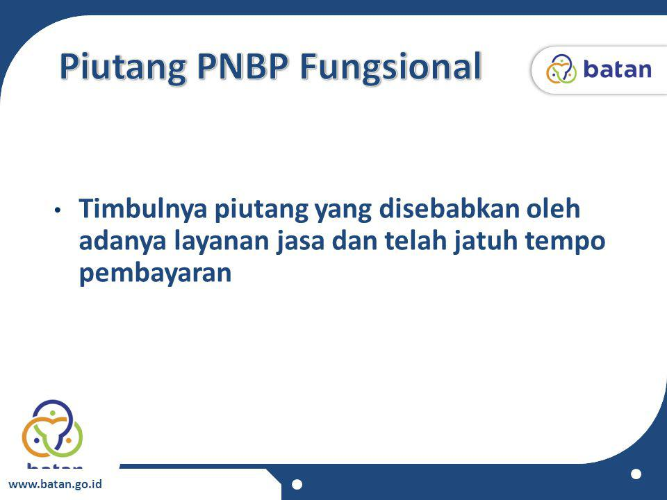 Piutang PNBP Fungsional