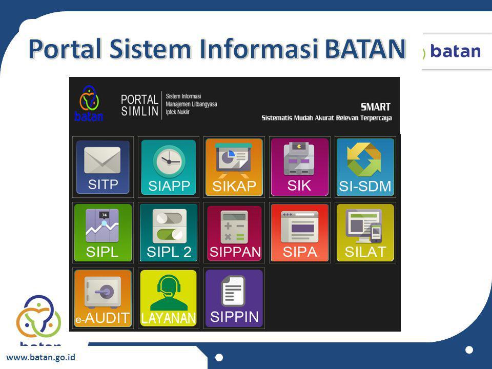 Portal Sistem Informasi BATAN