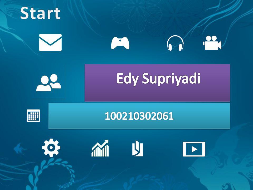 Edy Supriyadi 100210302061