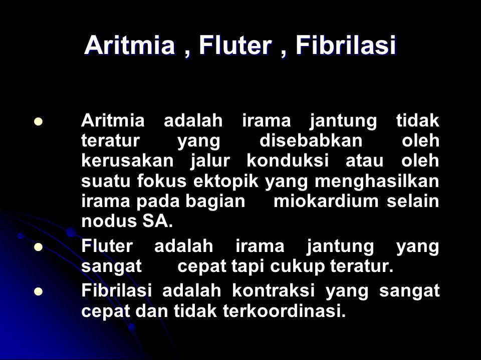Aritmia , Fluter , Fibrilasi