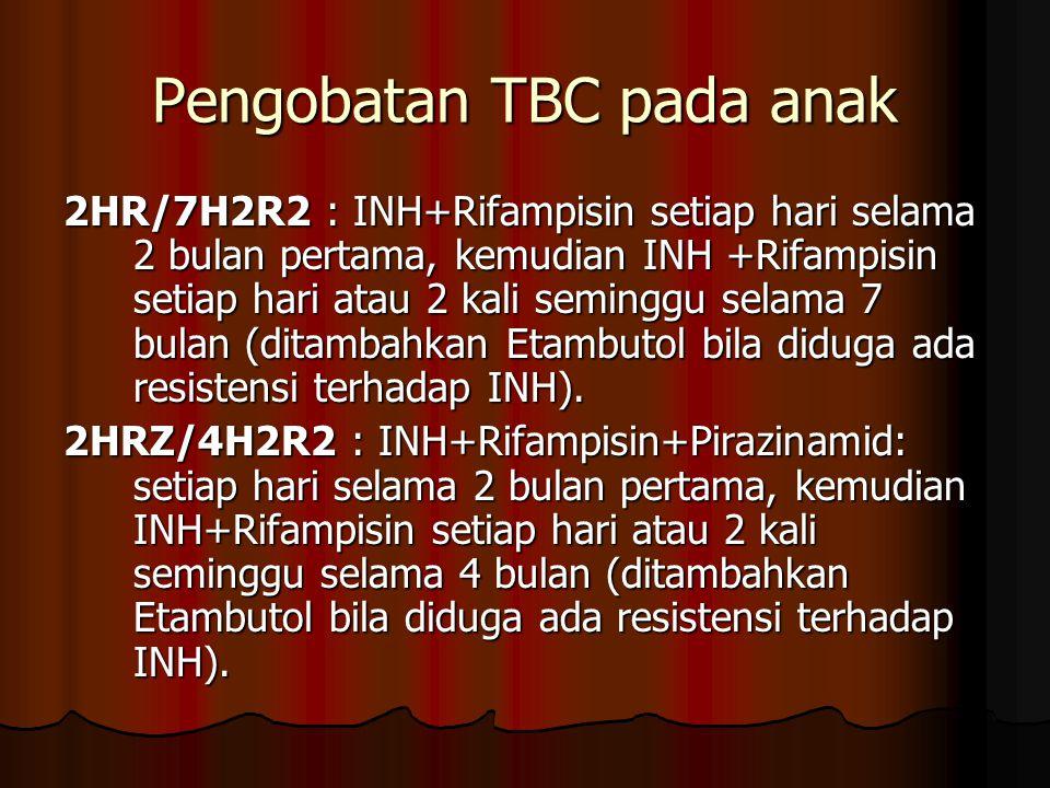 Pengobatan TBC pada anak