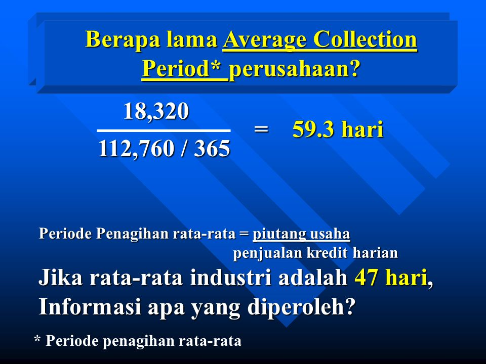 What is the firm's Average Collection Period