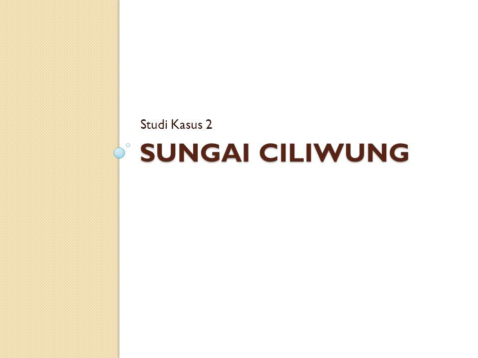 Studi Kasus 2 Sungai ciliwung