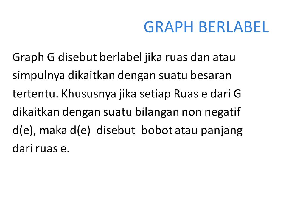 GRAPH BERLABEL