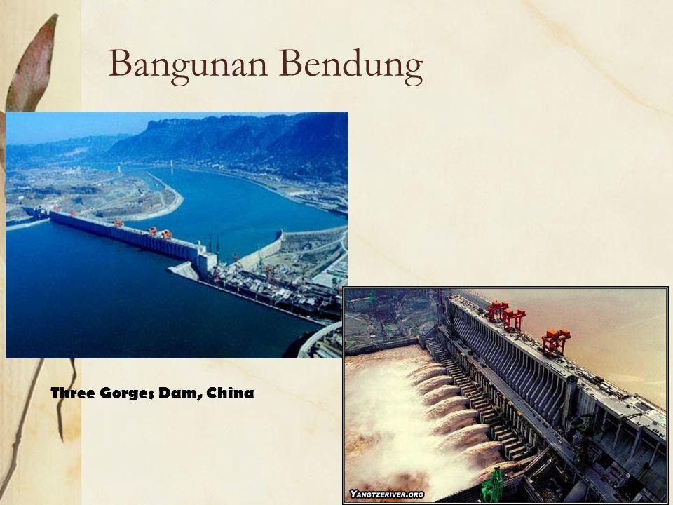 Bangunan Bendung Three Gorges Dam, China