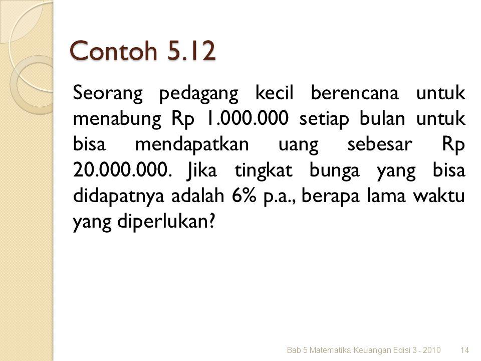 Contoh 5.12