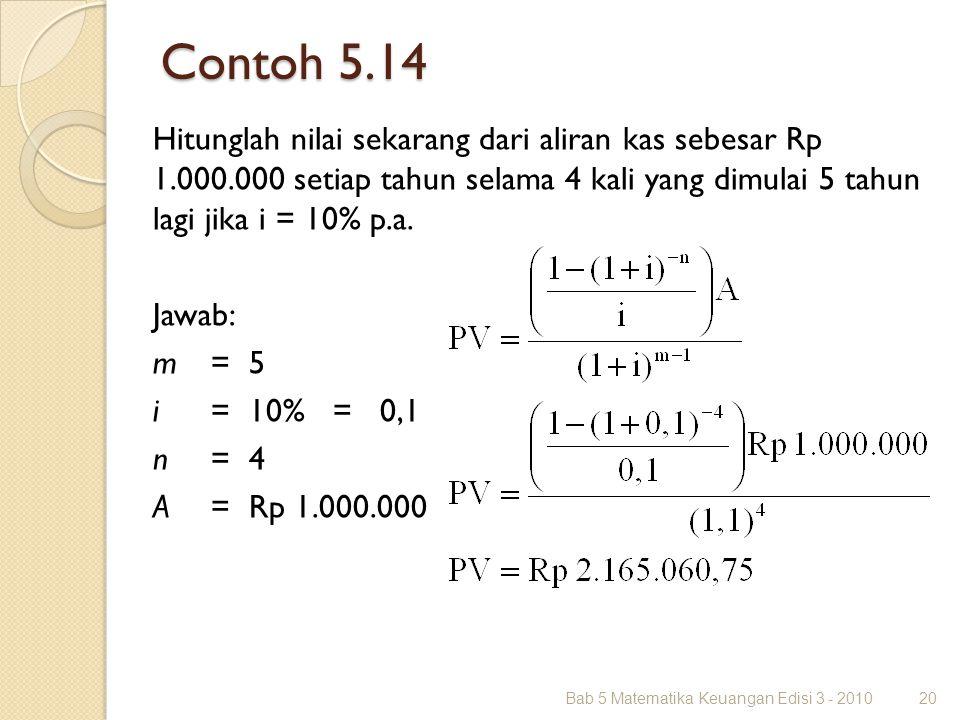 Contoh 5.14