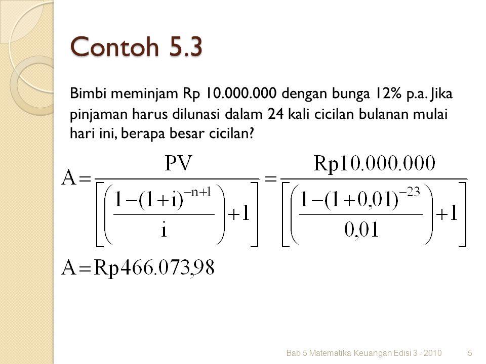 Contoh 5.3