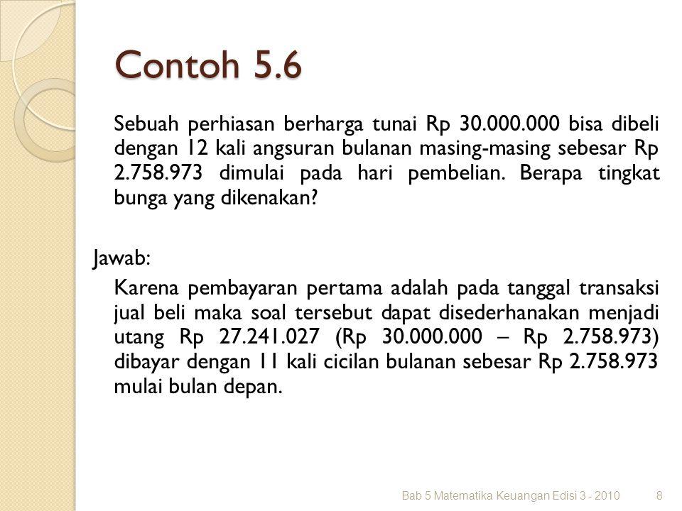 Contoh 5.6