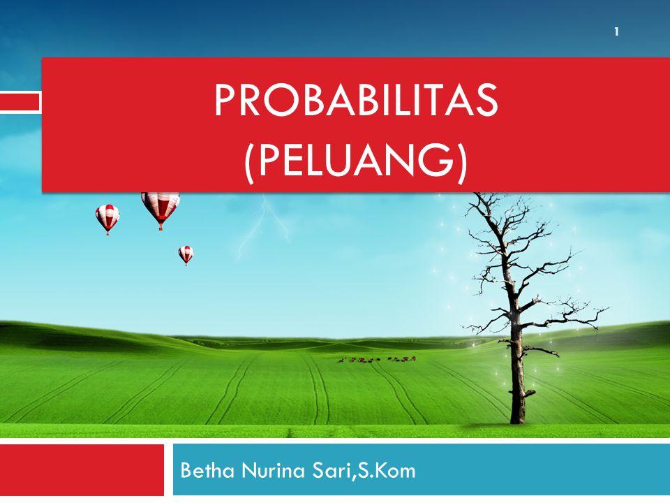 PROBABILITAS (PELUANG)