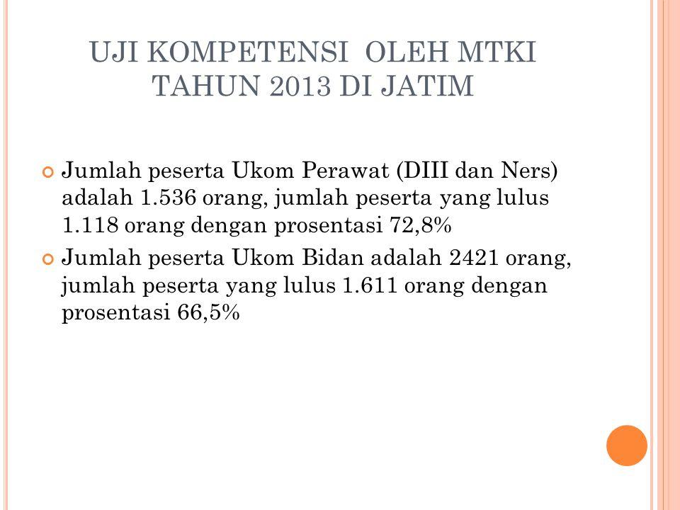 UJI KOMPETENSI OLEH MTKI TAHUN 2013 DI JATIM