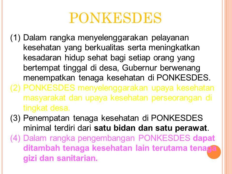 PONKESDES