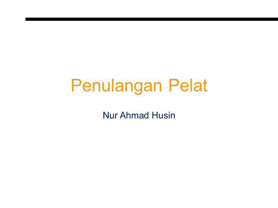Penulangan Pelat Nur Ahmad Husin
